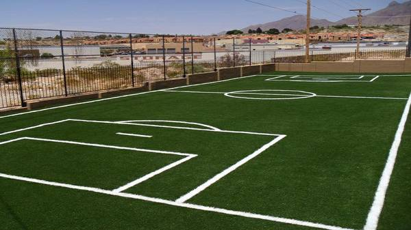 Triyaecom Backyard Turf Soccer Field Various Design