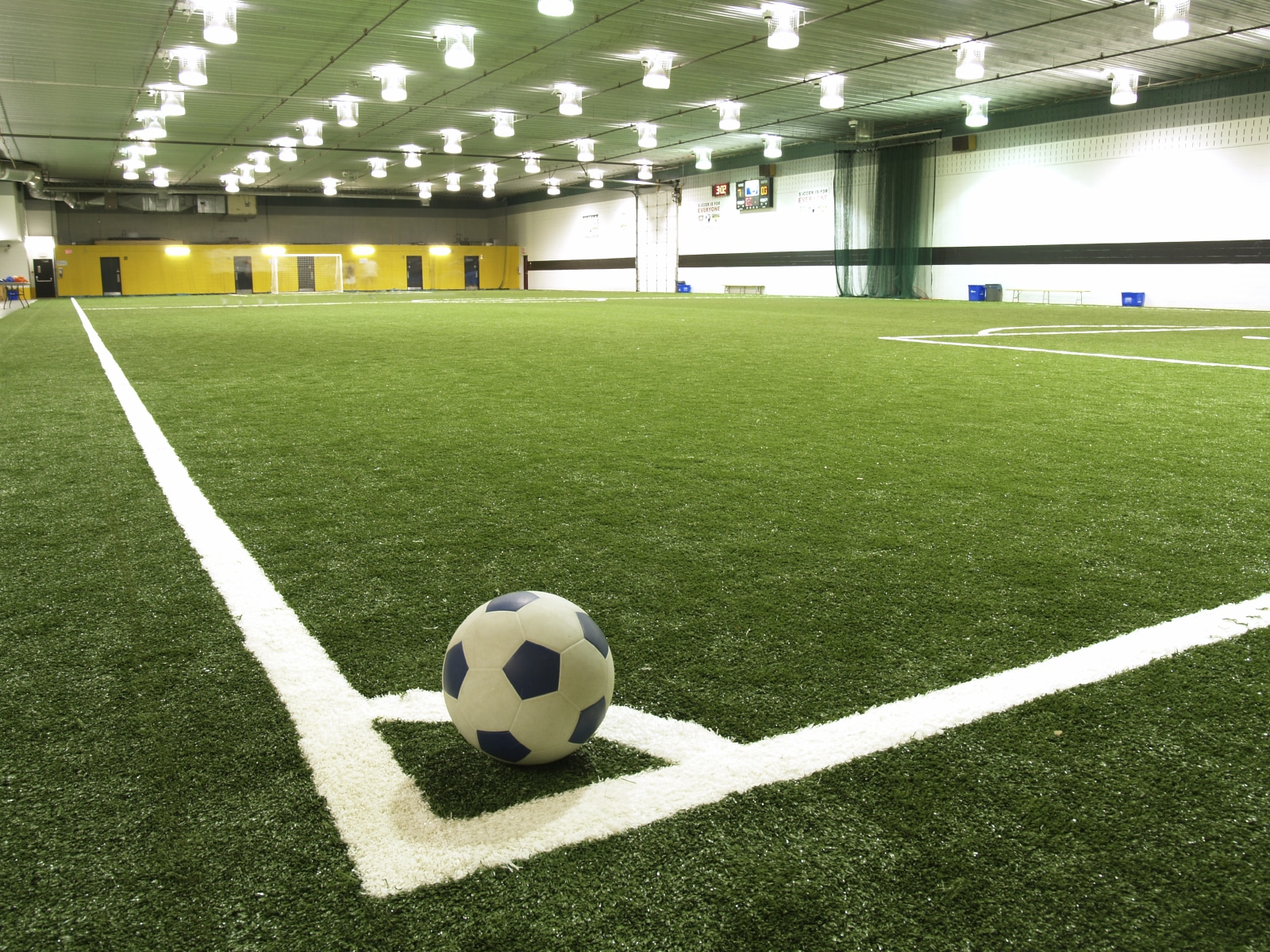 Here's Why Artificial Turf for Indoor Sports Fields Is Smarter | Artificial Grass Recyclers